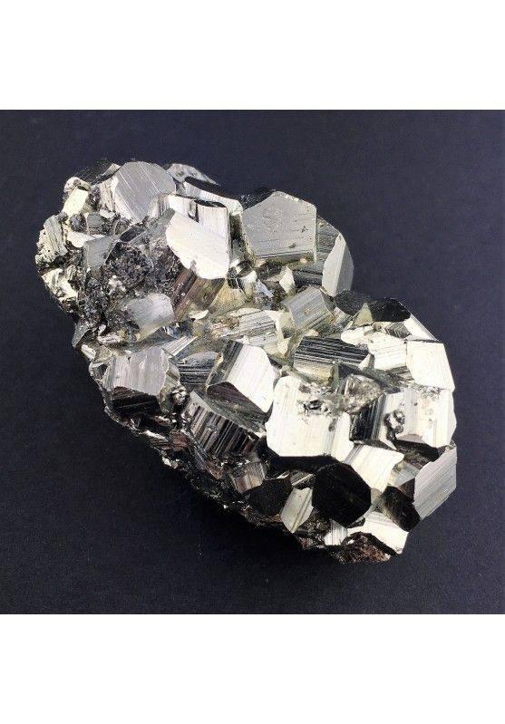 * MINERALS * Pentagonal Pyrite from Perù EXTRA Quality 142g 32x55x37mm Chakra-1
