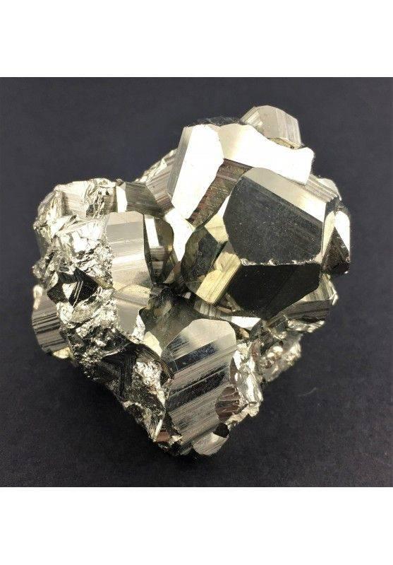 * MINERALI * PIRITE Pentagonale del Perù Qualità Extra 180g 43x46x52mm Reiki Zen-1