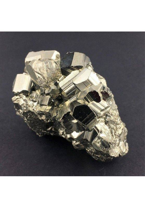 * MINERALS * Pentagonal Pyrite from Perù Quality Crystal Healing Specimen-3