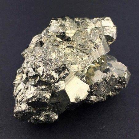* MINERALS * Pentagonal Pyrite from Perù Quality Crystal Healing Specimen-4
