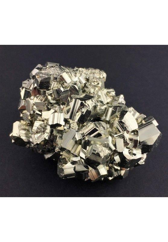 * MINERALS * Pentagonal Pyrite from Perù EXTRA Quality Crystal Healing 180g Zen-1