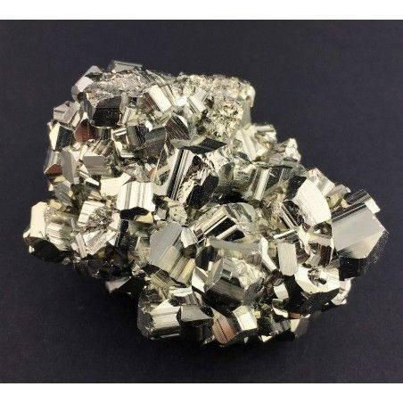 * MINERALI * PIRITE Pentagonale del Perù Qualità Extra Cristalloterapia 180g Zen-1