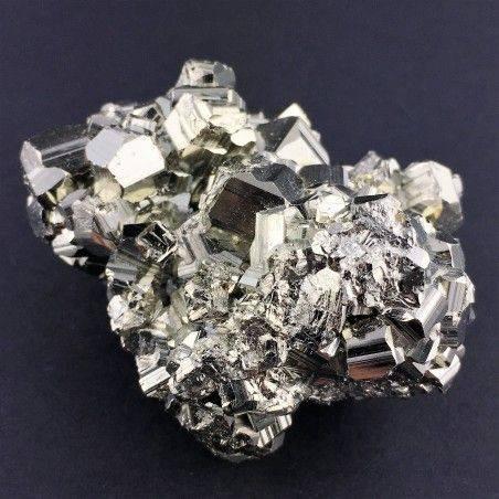 * MINERALS * Pentagonal Pyrite from Perù EXTRA Quality Crystal Healing 180g Zen-2