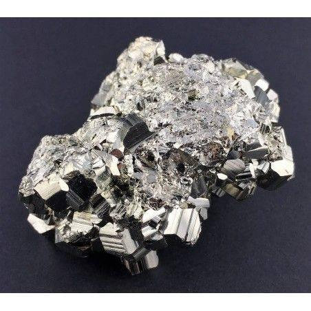 * MINERALS * Pentagonal Pyrite from Perù EXTRA Quality Crystal Healing 180g Zen-3