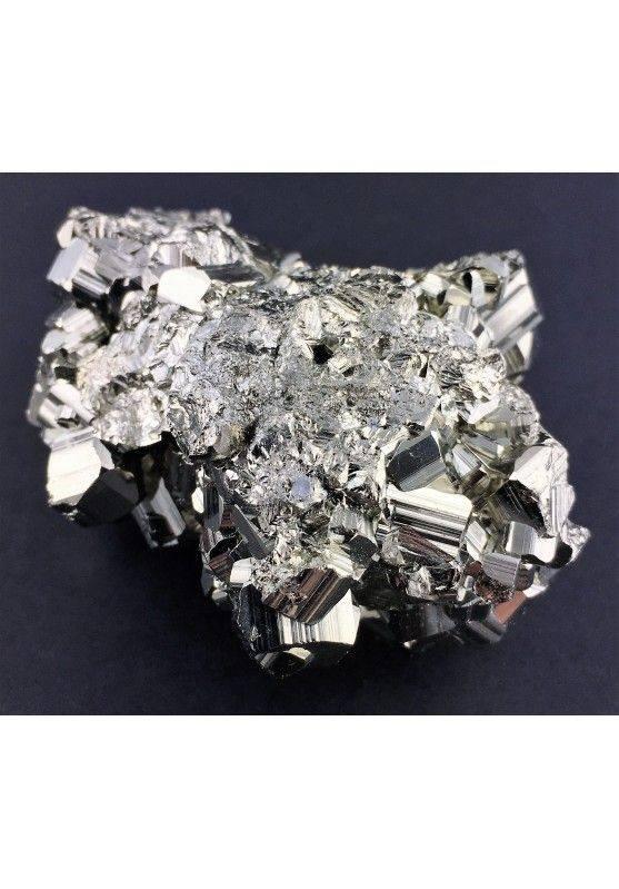 * MINERALS * Pentagonal Pyrite from Perù EXTRA Quality Crystal Healing 180g Zen-4
