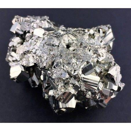 * MINERALI * PIRITE Pentagonale del Perù Qualità Extra Cristalloterapia 180g Zen-4