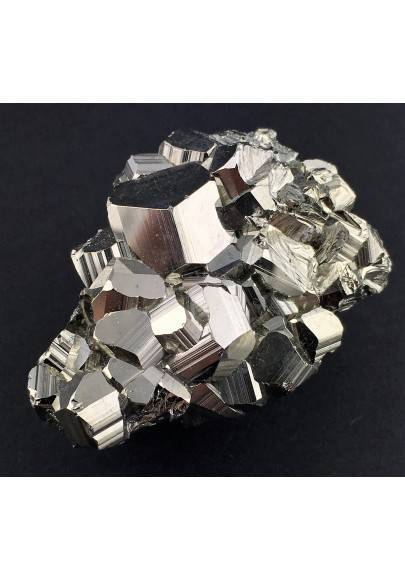 * MINERALS * Pentagonal Pyrite from Perù EXTRA Quality Crystal Healing Reiki-1