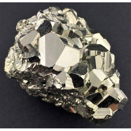 * MINERALS * Pentagonal Pyrite from Perù EXTRA Quality Crystal Healing Reiki-2