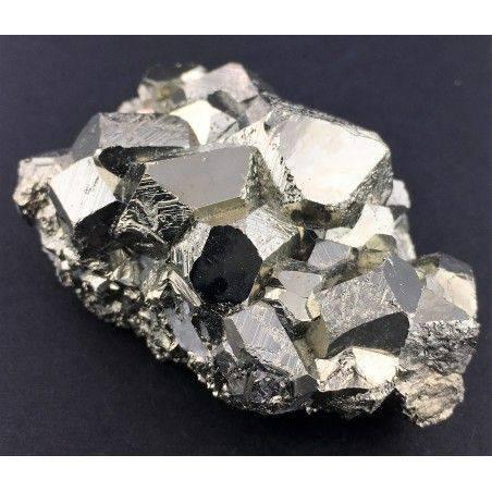 * MINERALS * Pentagonal Pyrite Perù EXTRA Quality Crystal Healing Chakra Zen-1