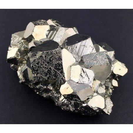 * MINERALS * Pentagonal Pyrite Perù EXTRA Quality Crystal Healing Chakra Zen-2