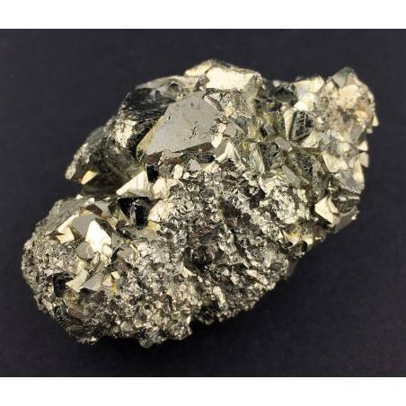 * MINERALS * Pentagonal Pyrite from Perù EXTRA Quality Crystal Healing 118,5g-1