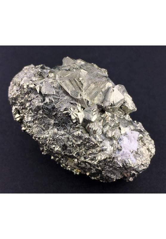 * MINERALI * PIRITE Pentagonale del Perù Qualità Extra Cristalloterapia 118,5g-2