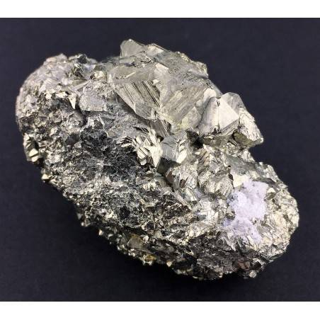 * MINERALS * Pentagonal Pyrite from Perù EXTRA Quality Crystal Healing 118,5g-2