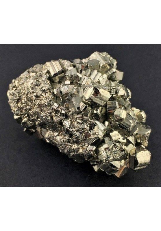 * MINERALS * Pentagonal Pyrite Perù Quality A+ Crystal Healing Specimen-2