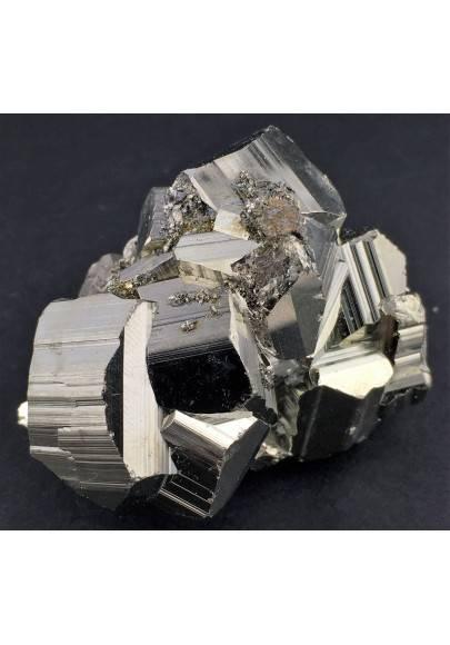* MINERALS * Pentagonal Pyrite Perù Quality A+ Crystal Healing Specimen-1
