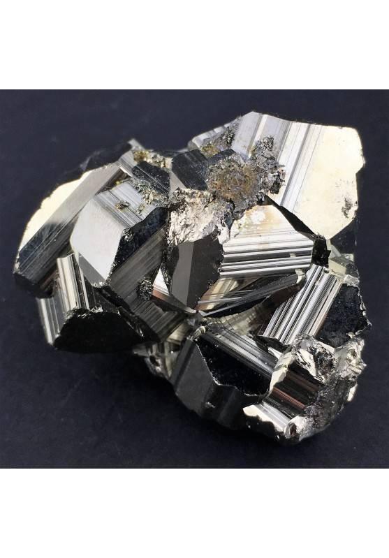 * MINERALS * Pentagonal Pyrite Perù Quality A+ Crystal Healing Specimen-3