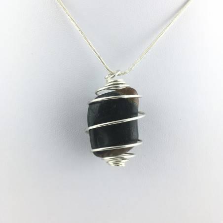 Pendant Mineral Medium Falcon Eye Tumbled Stone Crystal Healing High Quality-2