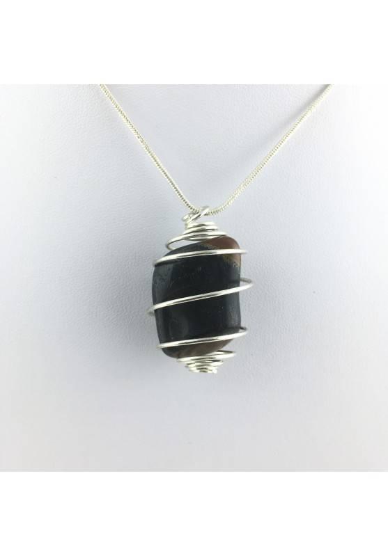 Pendant Mineral Medium Falcon Eye Tumbled Stone Crystal Healing Chakra Reiki Zen-1