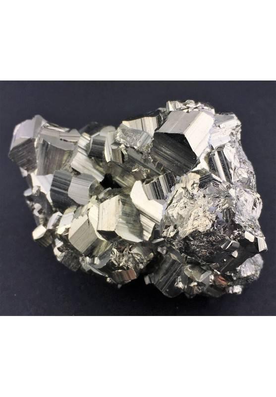 * MINERALS * Pentagonal Pyrite Perù Quality A+ Crystal Healing Specimen-4