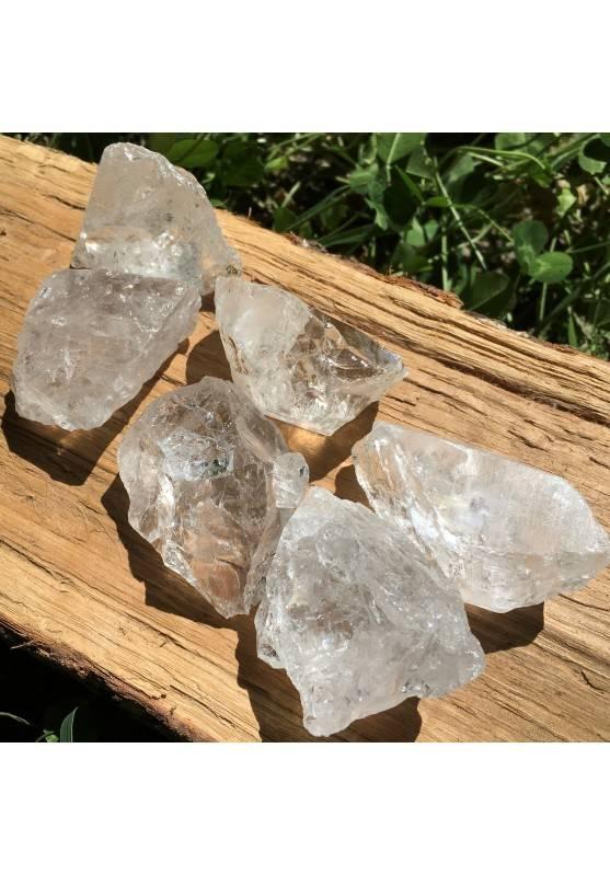 MINERALI * QUARZO IALINO Grezzo JUMBO Cristalloterapia Cristallo di Rocca-2