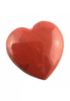 CUORE in DIASPRO ROSSO di Alta Qualità AMORE San Valentino Cristalloterapia Zen-3