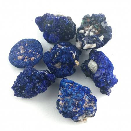 Rough AZURITE Crystal MINERALS Color Crystal Healing Chakra Reiki A+-2