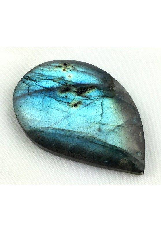 Polished KING LABRADORITE Cabochon STONE Quality Crystal Healing Chakra Reiki 10g-1