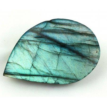 Polished KING LABRADORITE Cabochon STONE Quality Crystal Healing Chakra Reiki 10g-3