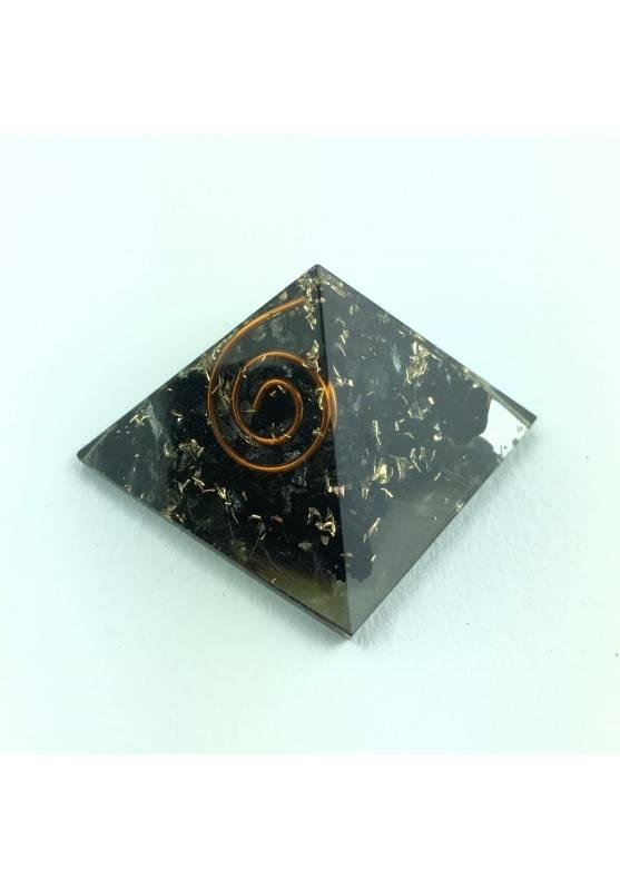 PYRAMID Orgonite with SHUNGITE Crystal Healing Minerals 18g Chakra Reiki Zen-1