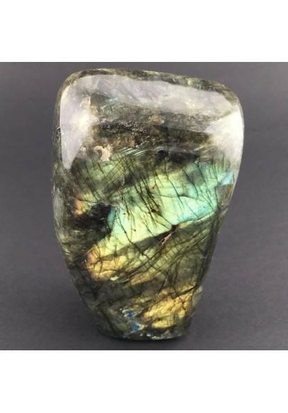 * Minerali * Stupenda LABRADORITE DEL RE Grande da Collezionismo Pietra Chakra-1