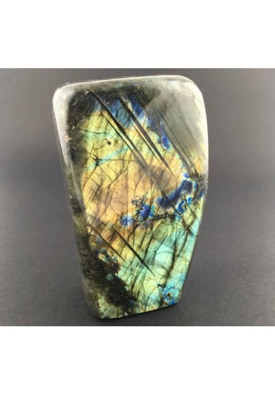 * Minerali * Stupenda LABRADORITE DEL RE Grande da Collezionismo Pietra Chakra-2