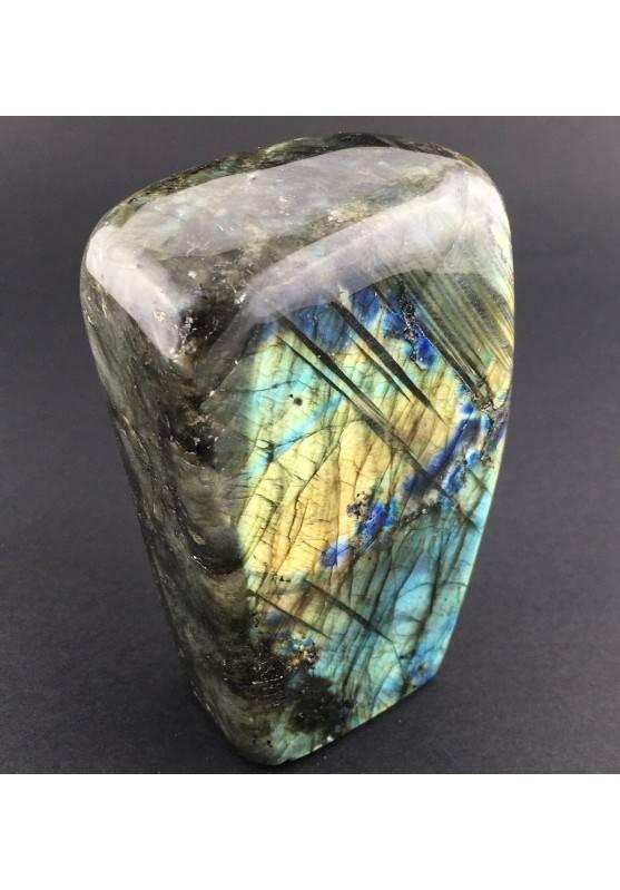 * Minerali * Stupenda LABRADORITE DEL RE Grande da Collezionismo Pietra Chakra-4