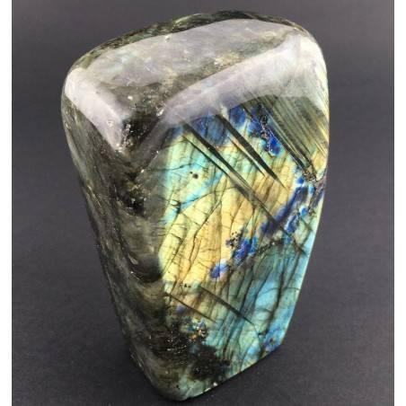 * MINERALS * LARGE Gorgeous LABRADORITE KING Quality Specimen Stone Chakra-4