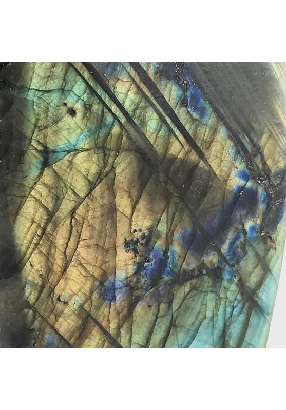 * MINERALS * LARGE Gorgeous LABRADORITE KING Quality Specimen Stone Chakra-5