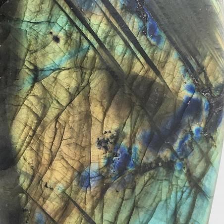 * Minerali * Stupenda LABRADORITE DEL RE Grande da Collezionismo Pietra Chakra-5