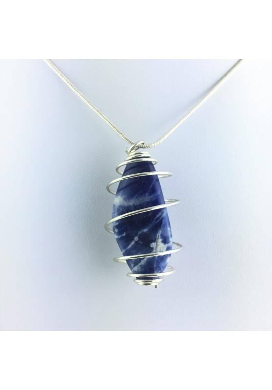 Pendants Sodalite Tumbled Stone MINERALS Crystal Healing Chakra Reiki Zen-1