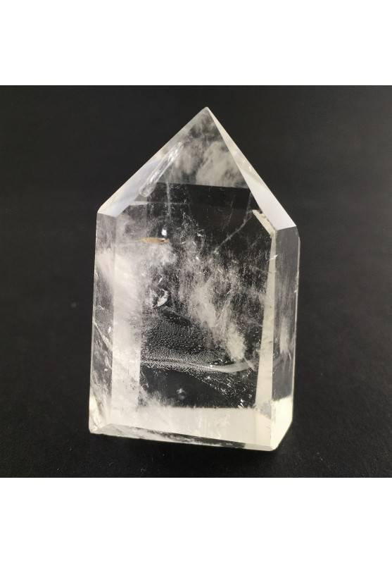 PUNTA di QUARZO IALINO Cristallo di Rocca Minerali Cristalloterapia 59gr-1