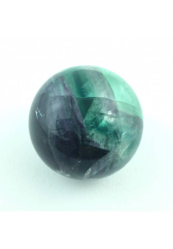 Minerals * Wonderful Sphere Fluorite Violet/Green Extra Quality-1