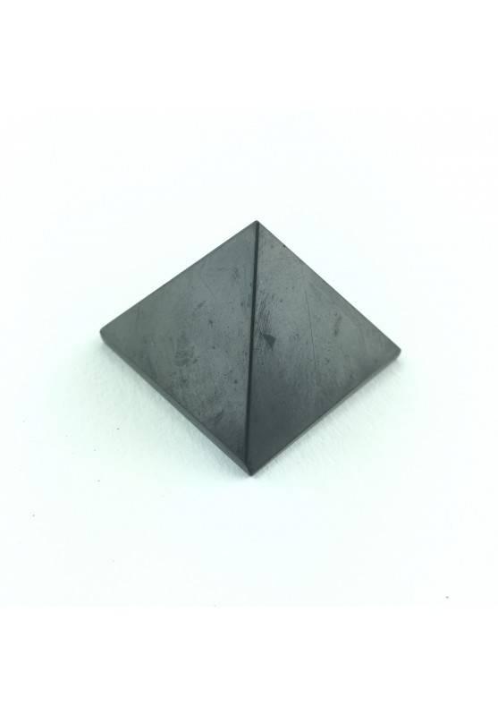 PYRAMID Shungite no elecrtosmog 30x30mm polished Crystal Healing-1