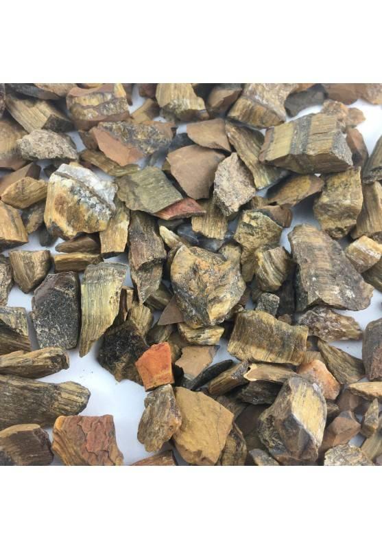 100 Grams Crystal Rough Eye Tiger Crystal Healing Stone Minerals-1