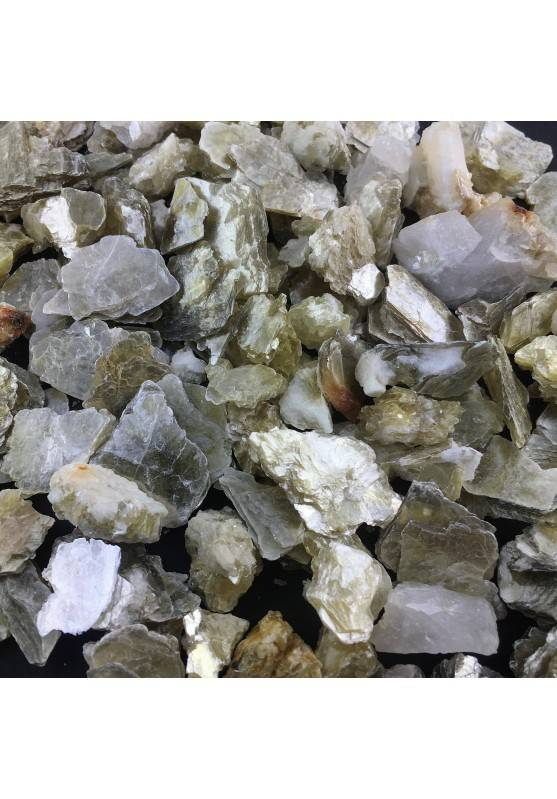 50 Grammi MICA MUSCOVITE Grezza Minerali Cristalloterapia-1