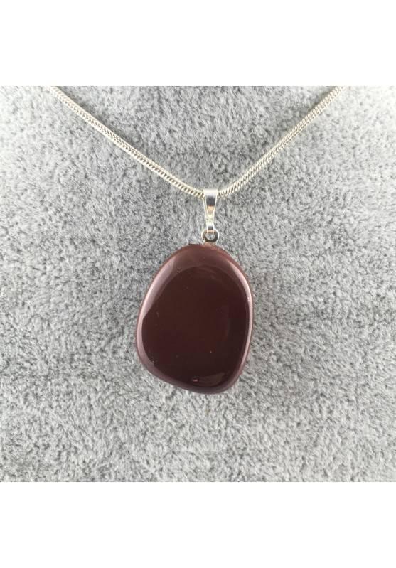 Ottimo Ciondolo in MOOKAITE Burattata COLLANA Minerali Chakra Alta Qualità A+-2