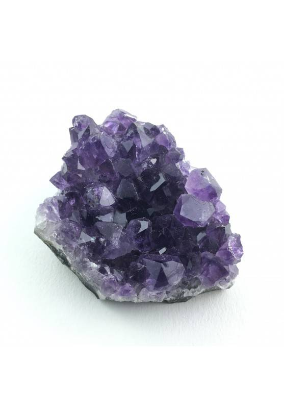MINERAL * Good precious Amethyst Geode Druzy Rough Crystal Healing Specimen-2