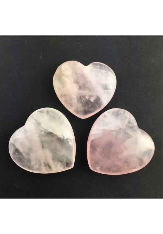 Rose Quartz Heart High Quality Stone Crystal Healing Chakra Reiki Zen-2