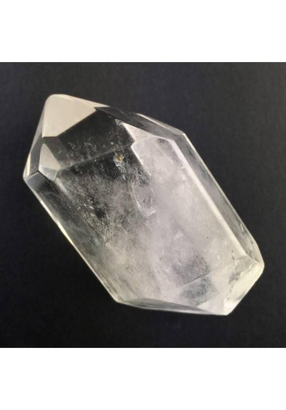 MINERALS Bi-terminated Clear Quartz Point Pure stoned Crystal Healing Meditation-1