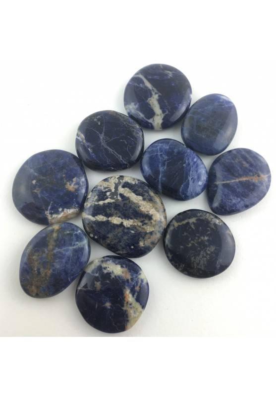 PALMSTONE en SODALITA Azul Rodado Piedra de Mano Calidad Extra-1