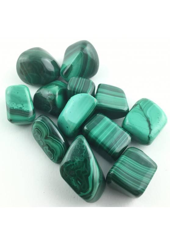 MINERALS * Tumbled MALACHITE Green Crystal Healing Specimen Meditation Chakra-1