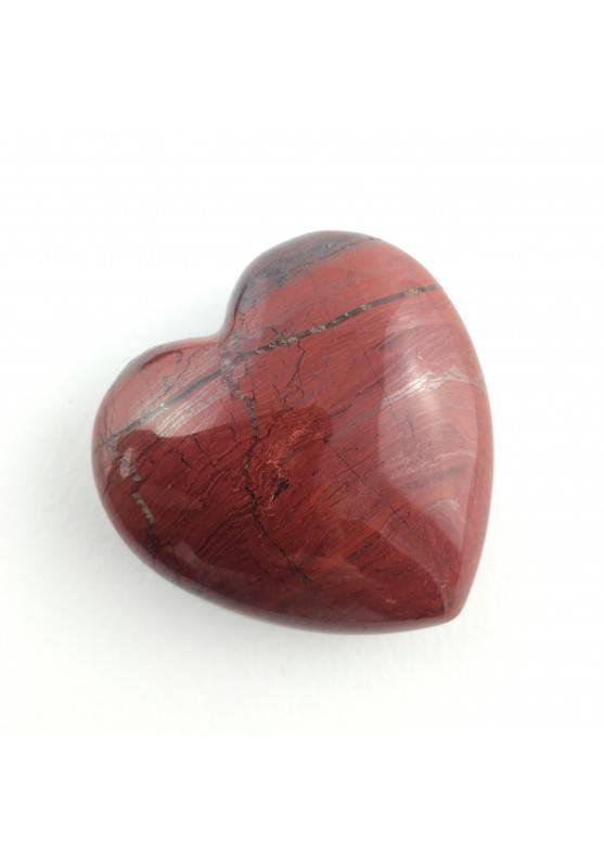 Tumbled Heart Stone RED Jasper Crystal Healing Love Specimen Extra Quality-1