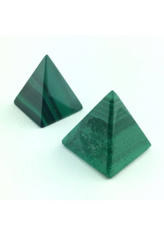 Tumbled Pretty Pyramid MALACHITE Authentic Green Crystal Healing Chakra-1
