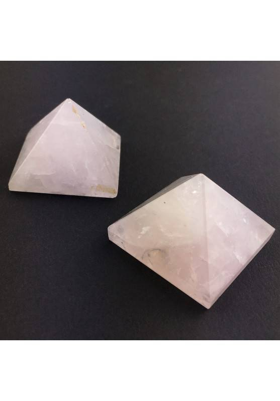 PYRAMID Rose Quartz Crystal Healing Furniture Love Chakra Reiki Specimen-2